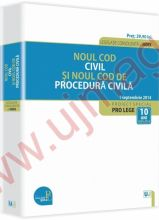 Noul Cod civil si Noul Cod de procedura civila. Legislatie consolidata la data de 1 Septembrie 2014